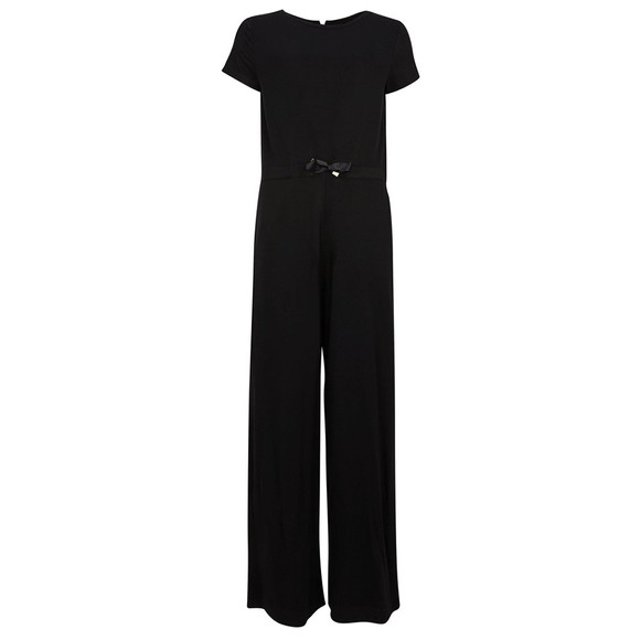 Barbour International Womens Black Chequer Jumpsuit