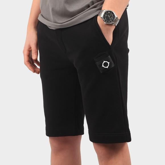 Ma.Strum Mens Black Core Sweat Short