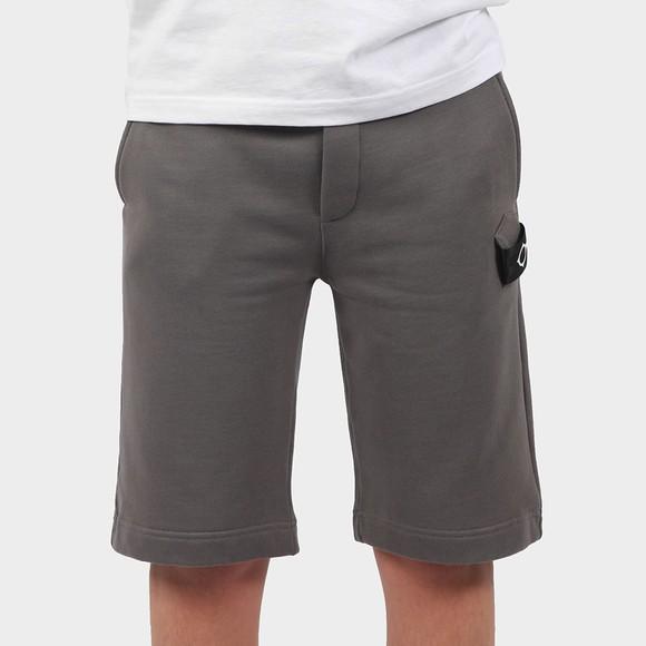 Ma.Strum Mens Grey Core Sweat Short