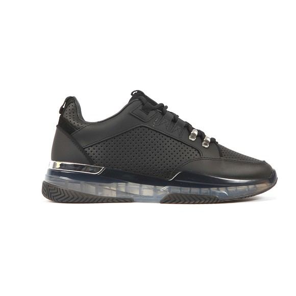 Mallet Mens Black Elmore Perforated 3.0 Trainer
