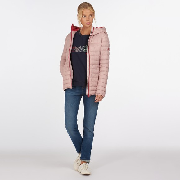 Barbour Lifestyle Womens Pink Saltburn Quilt main image