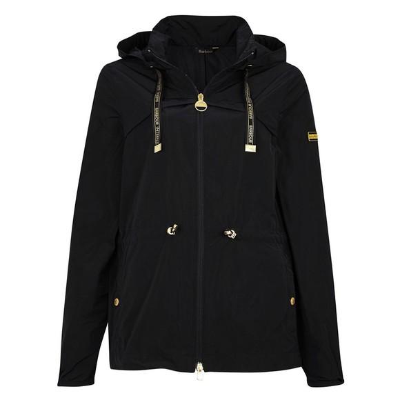 Barbour International Womens Black Rollcage Showerproof Jacket