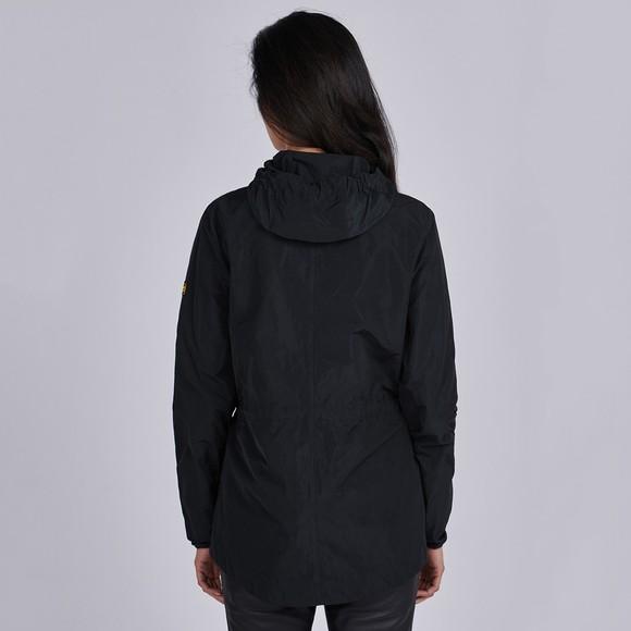 Barbour International Womens Black Rollcage Showerproof Jacket main image