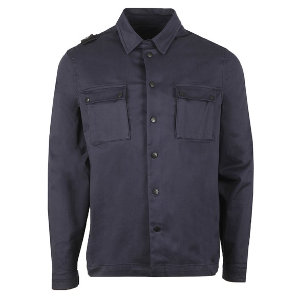 Ma.Strum Mens Ink Navy DH Two Pocket Overshirt