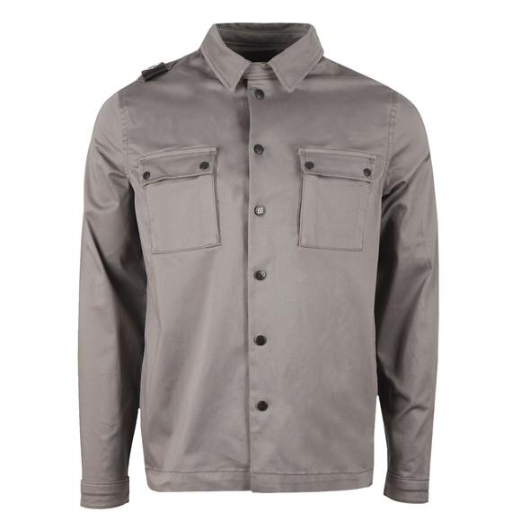 Ma.Strum Mens Grey DH Two Pocket Overshirt