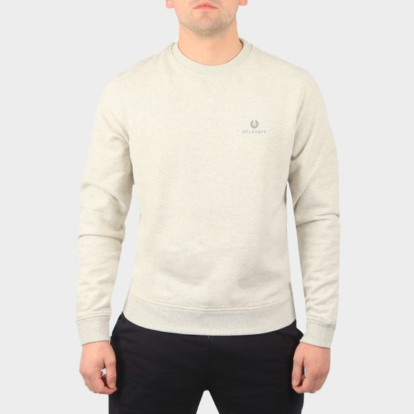 Belstaff Mens Grey Small Logo Sweatshirt