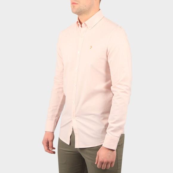 Farah Mens Pink Brewer Shirt main image