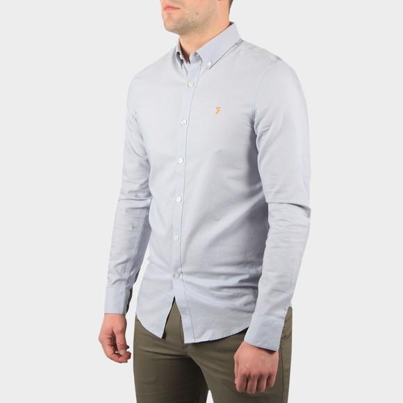 Farah Mens Blue Brewer Shirt main image