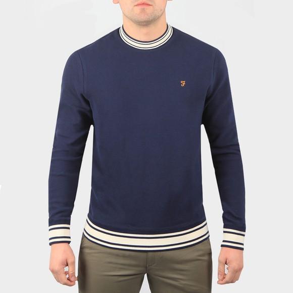 Farah Mens Blue Los Angeles Sweatshirt
