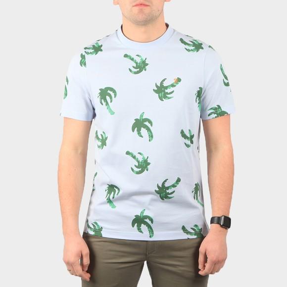 Farah Mens Blue Elvido T-Shirt