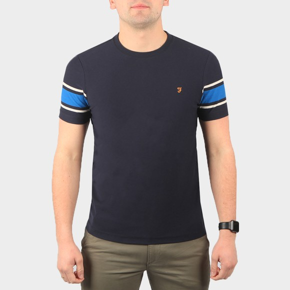 Farah Mens Blue Spielberg T Shirt