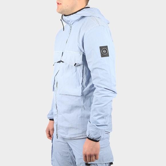 Marshall Artist Mens Blue GD Hooded Overshirt