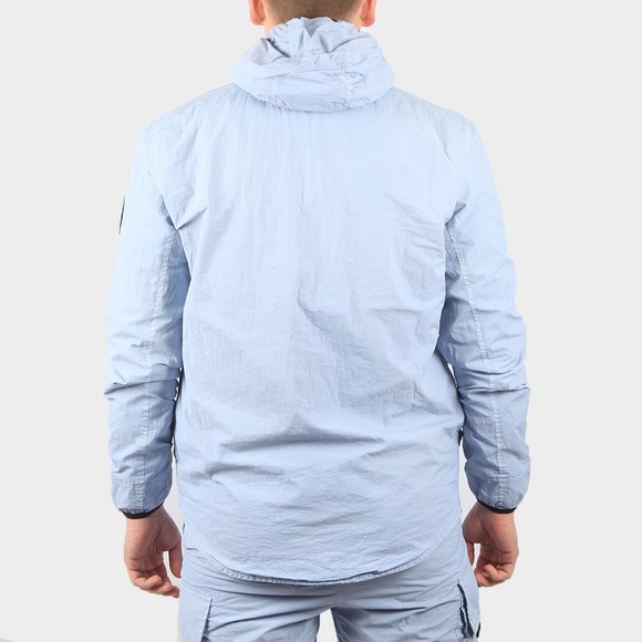 Marshall Artist Mens Blue GD Hooded Overshirt main image