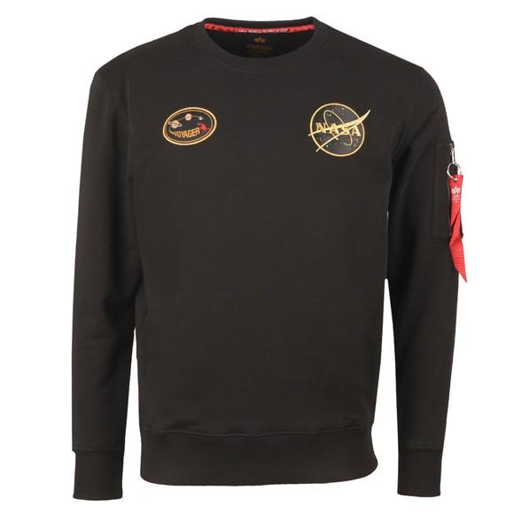 Alpha Industries Mens Black Voyager Sweatshirt