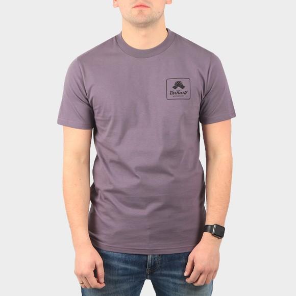 Carhartt WIP Mens Purple Peace State T-Shirt