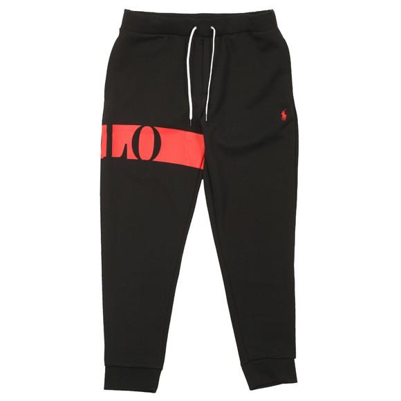 Polo Ralph Lauren Mens Black Active Logo Jogger