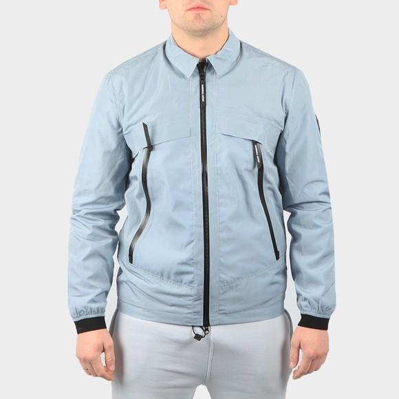 Marshall Artist Mens Blue Molecular Overshirt