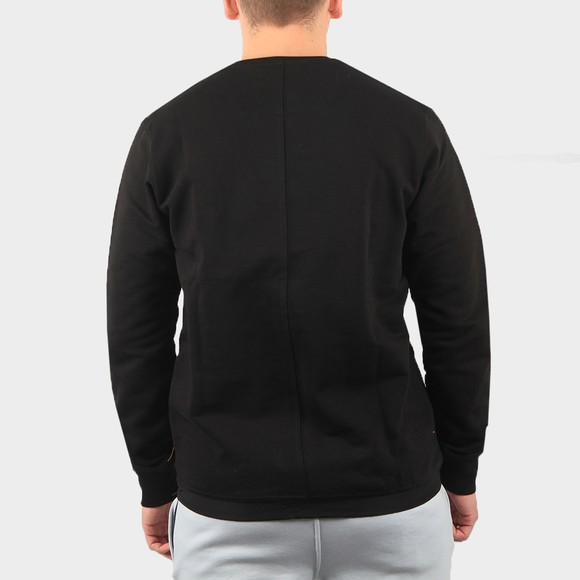 Marshall Artist Mens Black Liquid Ripstop Logo Sweatshirt main image