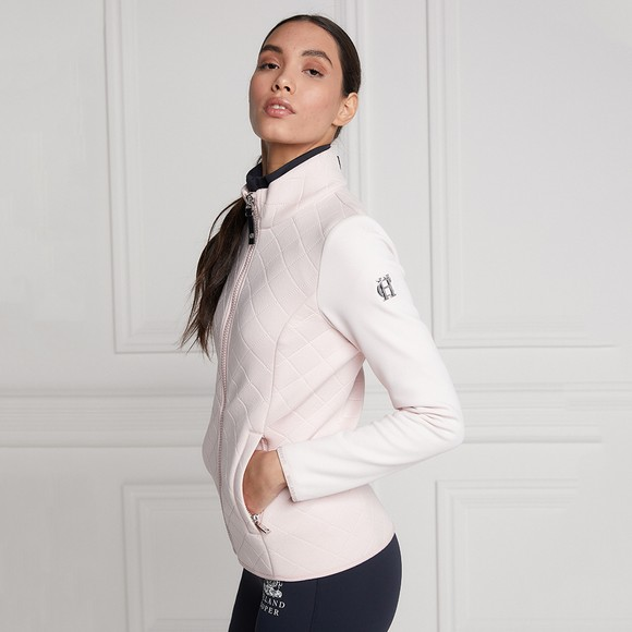 Holland Cooper Womens Pink The Coach Jacket main image