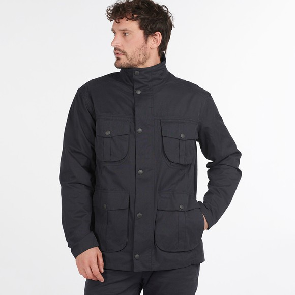 Barbour Lifestyle Mens Blue Sanderling Casual Jacket