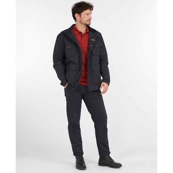 Barbour Lifestyle Mens Blue Sanderling Casual Jacket main image