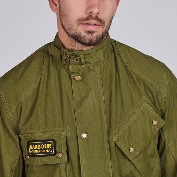 Barbour International Mens Green Summer Wash A7 Casual Jacket main image