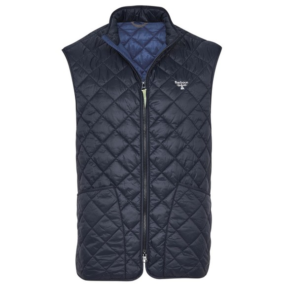 Barbour Beacon Mens Blue Hewitt Gilet