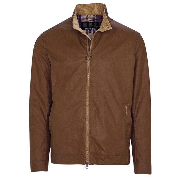 Barbour Lifestyle Mens Brown Brobel Wax Jacket