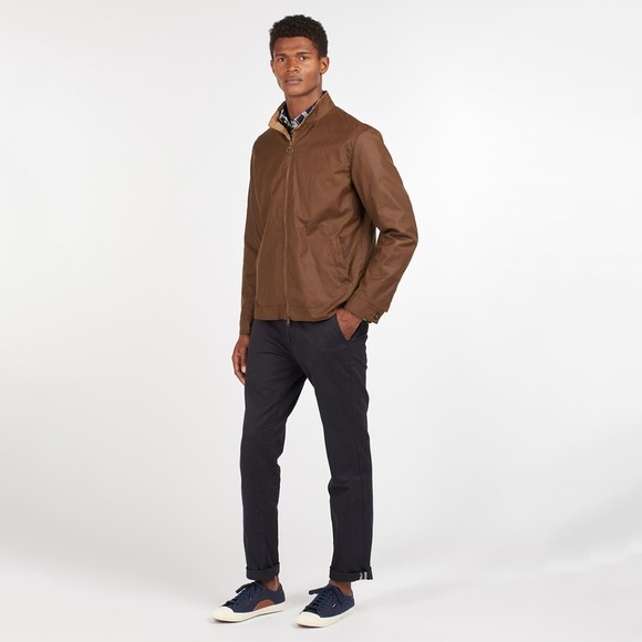Barbour Lifestyle Mens Brown Brobel Wax Jacket main image