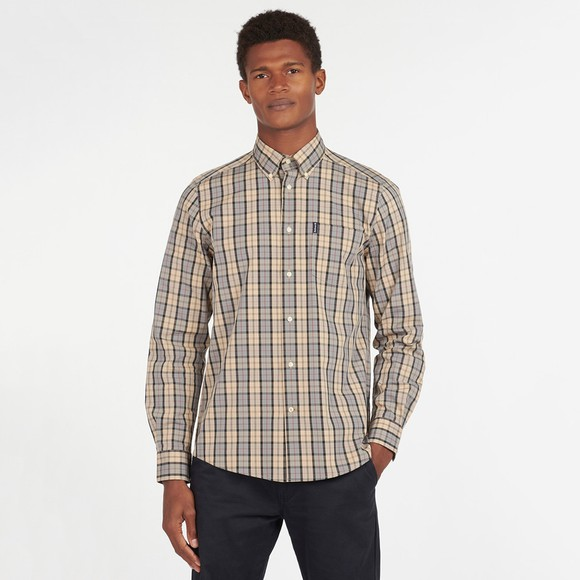 Barbour Lifestyle Mens Beige Tartan 17 Shirt main image
