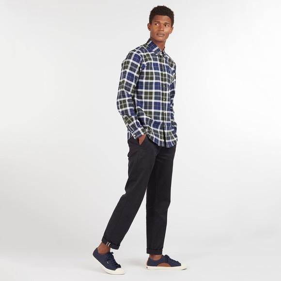 Barbour Lifestyle Mens Green Tartan 11 Tailored Shirt main image
