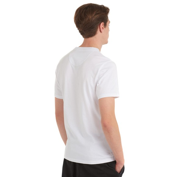 Barbour Beacon Mens White Diamond T-Shirt main image