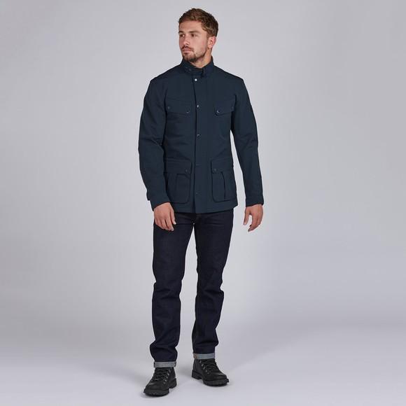 Barbour International Mens Blue Summer Waterproof Duke Jacket main image