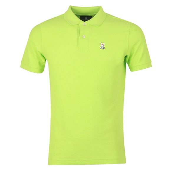 Psycho Bunny Mens Green Classic Polo Shirt