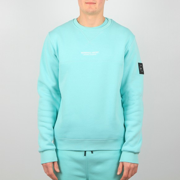 Marshall Artist Mens Blue Siren Sweatshirt main image
