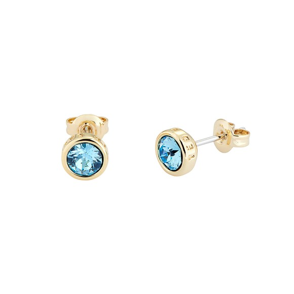 Ted Baker Womens Gold Sinaa Stud Earrings