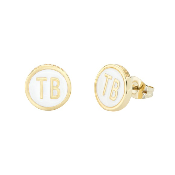 Ted Baker Womens White Dollsa Dolly Mix Stud Earring