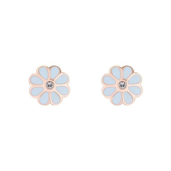 Ted Baker Womens Pink Daraeh Daisy Stud Earrings main image