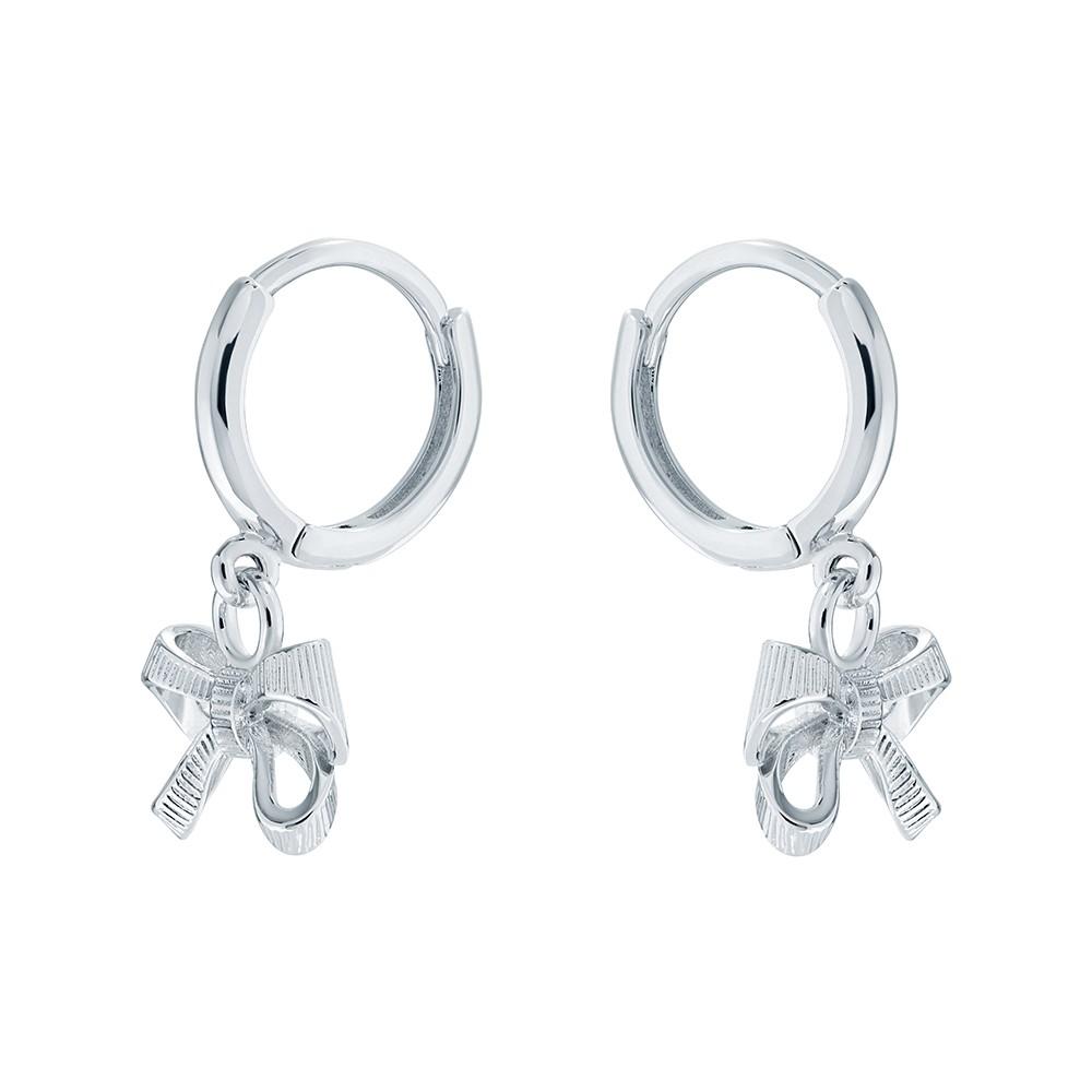 Perrie Bow Huggie Earring main image