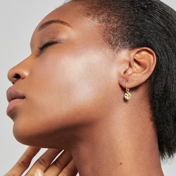 Ted Baker Womens Gold Marrie Moonrock Earring