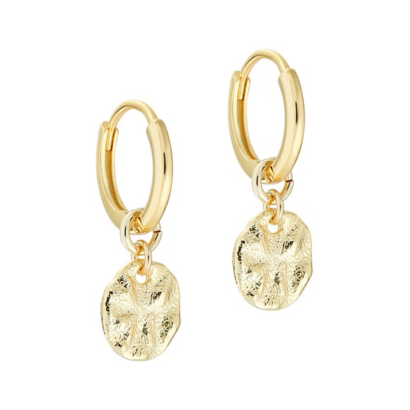 Ted Baker Womens Gold Marrie Moonrock Earring