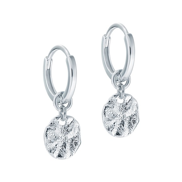 Ted Baker Womens Silver Marrie Moonrock Earring