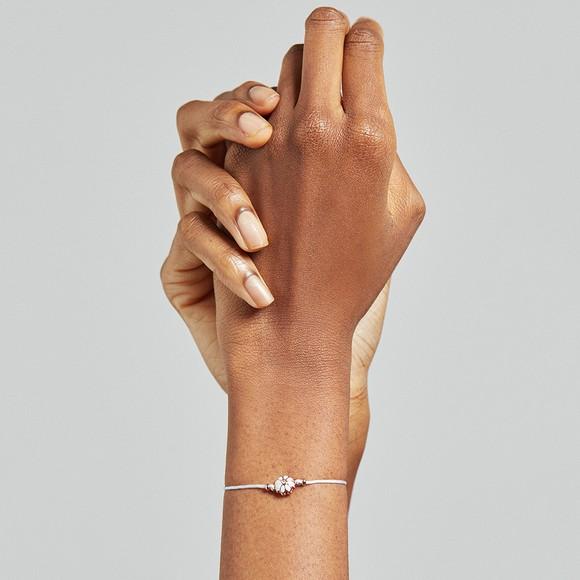 Ted Baker Womens Pink Darsay Daisy Friendship Bracelet