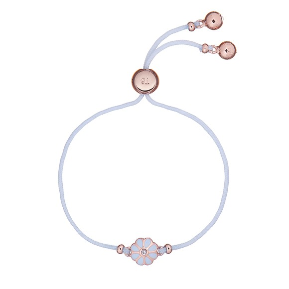 Ted Baker Womens Pink Darsay Daisy Friendship Bracelet main image
