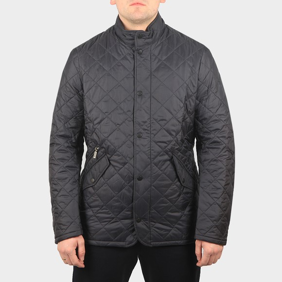 Barbour Lifestyle Mens Blue Flyweight Chelsea Quilt Jacket