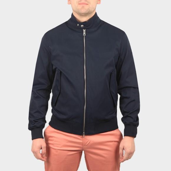J.Lindeberg Mens Blue Derek Poly Stretch Jacket