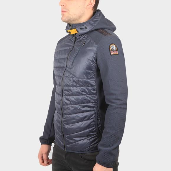 Parajumpers Mens Grey Nolan Hooded Jacket