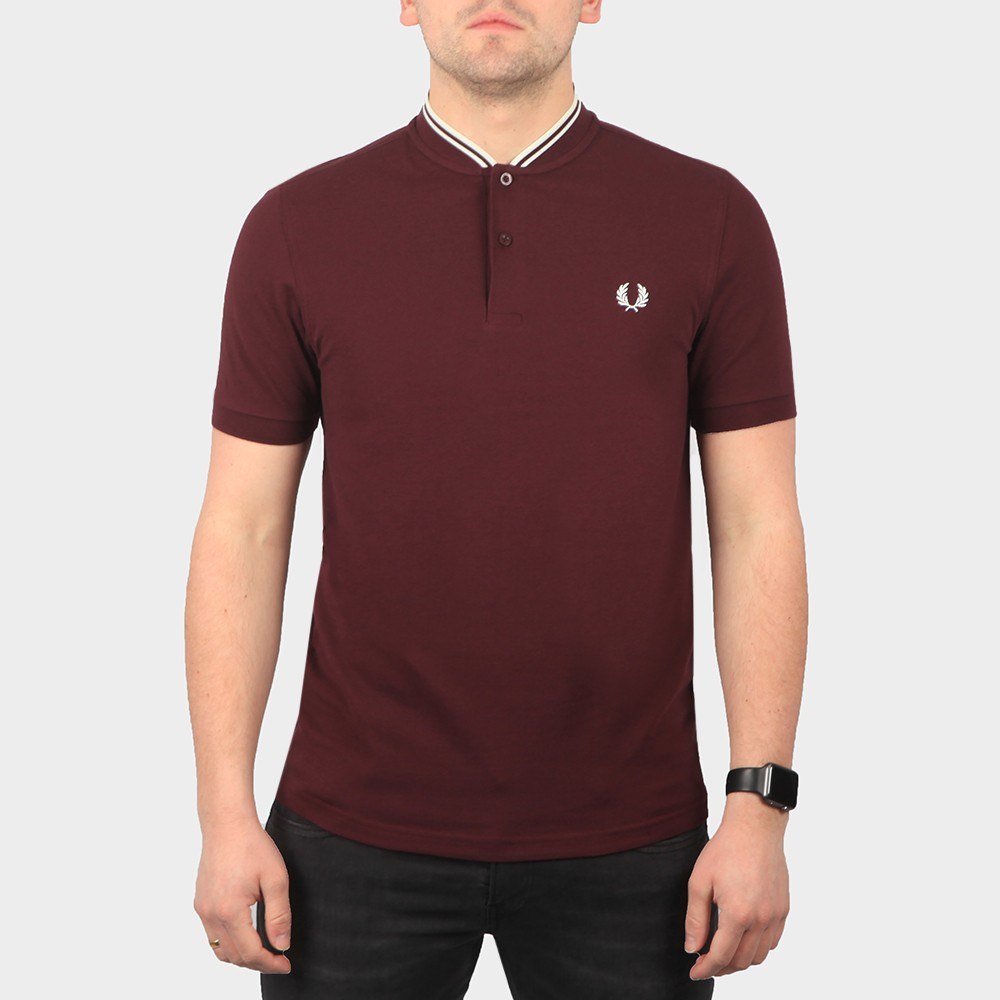Bomber Collar Polo Shirt main image