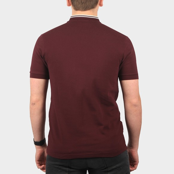 Fred Perry Mens Brown Bomber Collar Polo Shirt main image