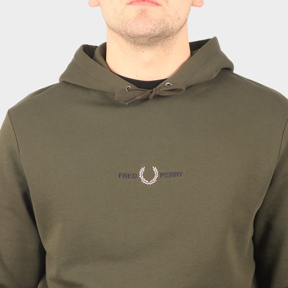 Embroidered Hooded Sweatshirt main image